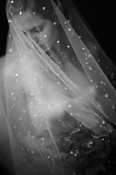 Accessories + Boudoir Shoot | veil via Church Street Bridal | photo by Jen Fariello