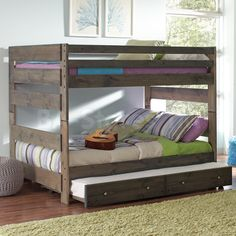 Full Over Queen Bunk Bed With Trundle Por Interior Paint Colors Check More At Http