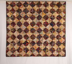 American Antique Log Cabin Quilts - Betsey Telford-Goodwin's Rocky Mountain Antique Quilts