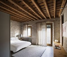 dear god i want to live here so bad. medieval building turned into a living space