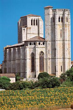 Collégiale Saint-Pierre de la Romieu.Midi-Pyrénées