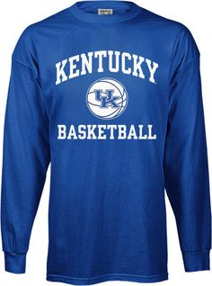 Blue Kentucky Basketball Shirt. You can always count on the Kentucky  Wildcats to be a c914f6910