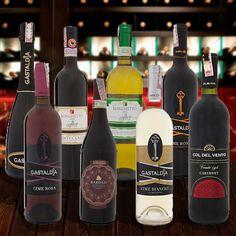 Vinhos de importação exclusiva da Crista Indústria