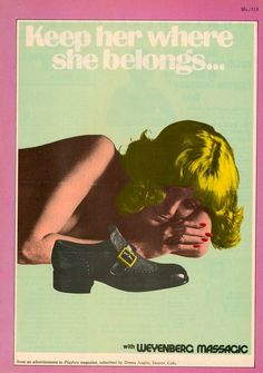 From Playboy magazine. | 15 Unbelievably Sexist Adverts From The 1970s