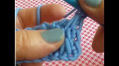 Tunus İşi İşkembe Modeli ( Tunisian crochet )