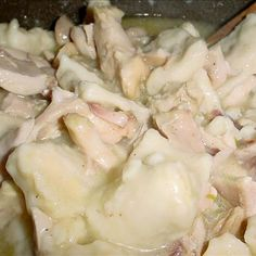 Chicken and Dumplings Like Cracker Barrel's Recipe