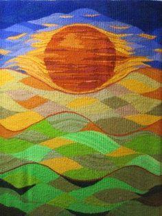 Resultado de imagen de eccentric tapestry weaving