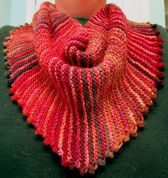 I love love love these yarns knit together, Malabrigo Silky Merino (a handdyed in Piedras) and Mini Mochi Merino, a handspun multicolor. So...