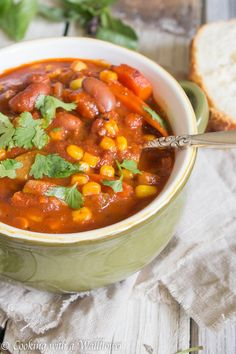Spicy Summer Vegetable Chili   Cooking with a Wallflower