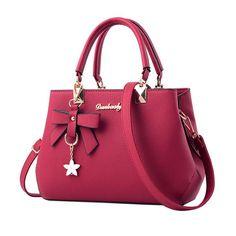 Leather luxury handbags women