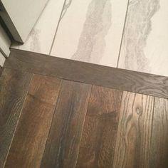 Clean Tile To Hardwood Floor Transition Looks Seamless