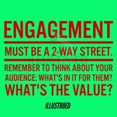 "Engagement? 2way street! ▃▃▃▃▃▃▃▃▃▃▃▃▃▃▃▃▃▃▃▃ Don't be Anti-social... Get Social with us! FB - facebook.com/illustr8ed.ca Twitter - Twitter.com/illustr8ed_ca Instagram- @illustr8ed.ca LinkedIn - https://ca.linkedin.com/in/illustr8edca Pinterest - www.pinterest.com/illustr8edca  Check us out online at www.illustr8ed.ca  illustr8ed.ca@gmail.com  ""Cre8ivity is in our DNA"""