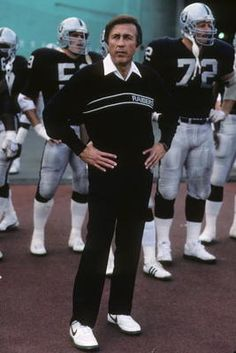 Tom Flores: Head Coach Oakland/Los Angeles Raiders (1979-87), Seattle Seahawks (1992-94). Winning Coach of Super Bowl XV (1980) and Super Bowl XVIII (1983) with the Raiders.