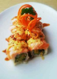 Pink lady sushi roll