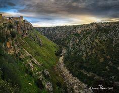 the edge of the town - Castellaneta