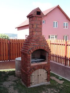 Outdoor Fireplace Patio, Stone Bbq, Outdoor Barbeque, Brick Bbq, Patio Grill, Door Gate Design, Fire Pit Designs, Bbq Area, Outdoor Kitchen Design