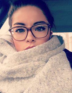 Blonde glasses massive facial