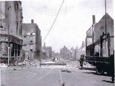 WW2 in the Netherlands - Rotterdam May 14th 1940 - Jonker Fransstraat.