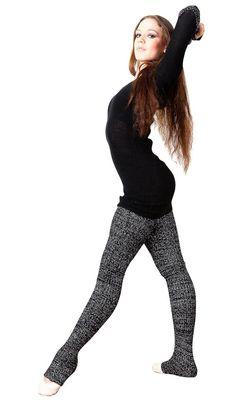 Super Long 40 Inch Leg Warmers Stretch Knit KD dance New York dancewear High Quality Made In USA