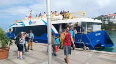 Ferry transfers from St. Thomas to St. John are available throughout the day.