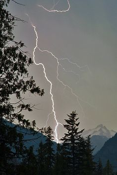 Lightning Bolt, British Columbia; photo by Justin Brown