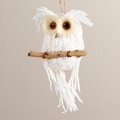 Paper Owl on Branch Ornament | World Market