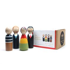 The Modern Masters Wooden Dolls Set