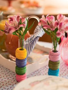 brunch-encontro-para-amigas-receber-em-casa-27 Diy Art Projects, Projects To Try, Sewing Table, Easy Crafts, Tea Party, Flower Arrangements, Party Themes, Pink Ladies, Birthday Parties