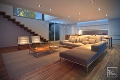 naE | Architecture | Casa Cubo | 2011 | Living