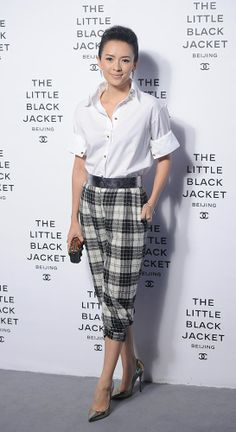 opening ceremony of The Chanel Little Black Jacket exhibition in Beijing, China,