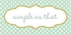 love this little blog!