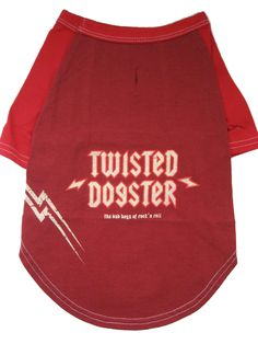 This raglan style tee will have your pooch head-banging in no time. twisted dogster