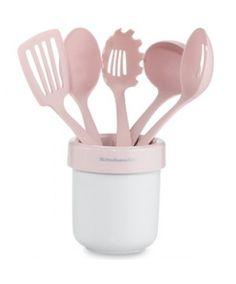 KitchenAid Pink 6-Piece Utensil Set