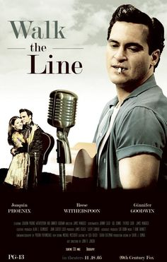Walk The Line (2005), an american biographical drama film directed by James Mangold and based on the early life and career of country music artist Johnny Cash. The film stars Joaquin Phoenix, Reese Witherspoon, Ginnifer Goodwin, and Robert Patrick.