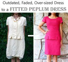 Vintage dress refash