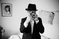 Peter Doherty with Bolex camera, Paris 2012 © Mathieu Zazzo