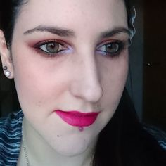 Makeup of the day: Revlon Colorstay foundation Benefit Hervana blush Morphe 35W palette Makeup Geek Blacklight in the inner corners The Balm Mary Lou-manizer highlighter and Bourjois Plum Plum Girl on the lips (which is more purple in person)! #bbloggers #beautybloggers #beautyblog #beauty #makeup #makeupaddict #makeupoftheday #MUOTD #motd #fotd #makeupofinstagram #Blacklight #mugblacklight #35w #morphe35w #plumplumgirl #instagood #instapic #instadaily #katiecupcakelifewithme