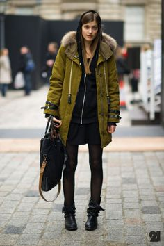 Coat #fall Street Style Fashion