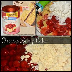 Dump cakes in the slow cooker seem to be all the rage! 2 ingredients sounded too easy to pass up. If you love cherries, you have to try this one out. Add a Cooker Recipe, Dump Cakes, Cooker Cherries, Dump Cake Recipes Slow Cooker, Crock Pots, Cherries Dump Cake, Cookies Xoxo, Crockpot Sweets, Crockpot Slowcooker