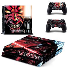 Star Wars PS4 Decals with FREE matching Controller Skins