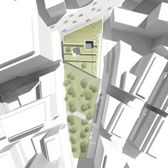 Gallery - Green Square Library & Plaza Design Competition Entry / Hyunjoon Yoo Architects - 7