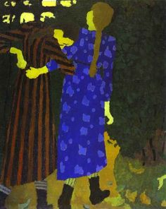 Girls Walking 1892  by Édouard Vuillard