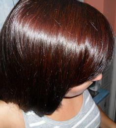 my hair - 2/3 henna+ 1/3 indigo