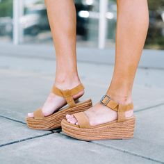 "17fbf4e38dc0 These Three Boutique on Instagram  ""The perfect espadrille moving into  Fall! The Siena Espadrille Wedge - Tan.  espadrilles  style"""