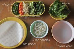 veggie spring roll recipe