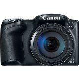 Canon PowerShot SX400 Digital Camera with 30x Optical Zoom Black (Certified Refurbished)