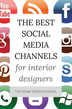Getting eyes on your business is known as 'brand visibility' in marketing speak, and one of the most effective ways of achieving brand visibility is by having a social media presence.  But with so many platforms out there, it's difficult to know which platforms to use, and you can burn out trying to do it all.   This guide talks you through the best platform for interior designers to use.