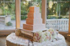 Elegantly Whimsical Texas Wedding from Day 7 Photography - wedding cake idea