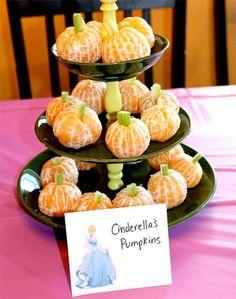 Cinderella's pumpkins -- tangerines