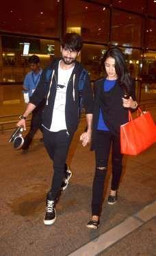 Shahid Kapoor with wife Mira Rajput - Varinder Chawla